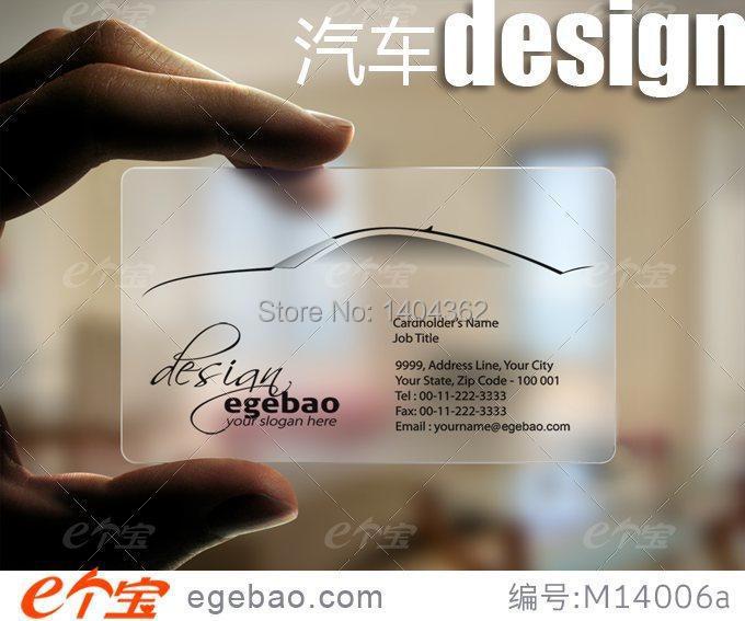 Imprimer Ur Custom Design Gel Transparent Pvc Cartes De Visite Coin Rond Et Livraison Conception Dans Fournitures Scolaires Bureau