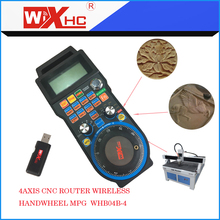 Manual pulse generator  Wireless Mach3 MPG Pendant Handwheel for CNC Mac.Mach 3, 4 axis Wholesale Price