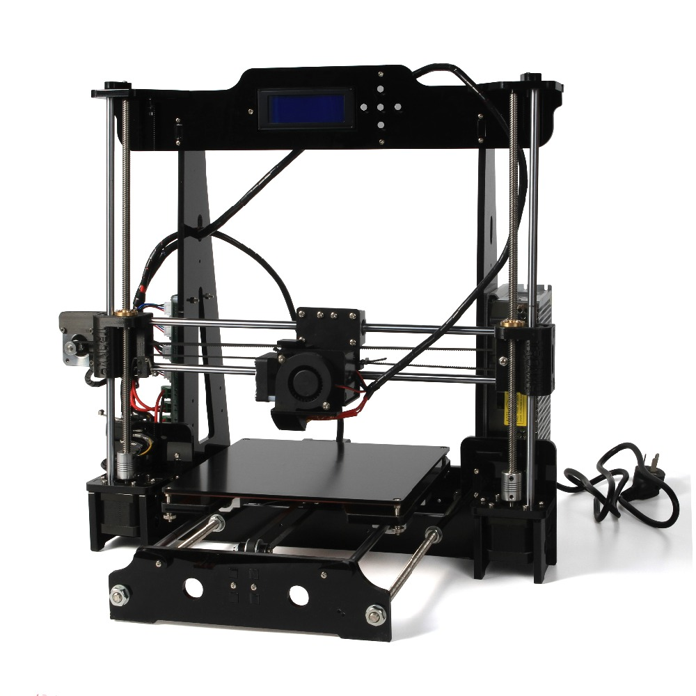 3D Printer Acrylic Frame LCD Screen Acquired Reprap Prusa ...