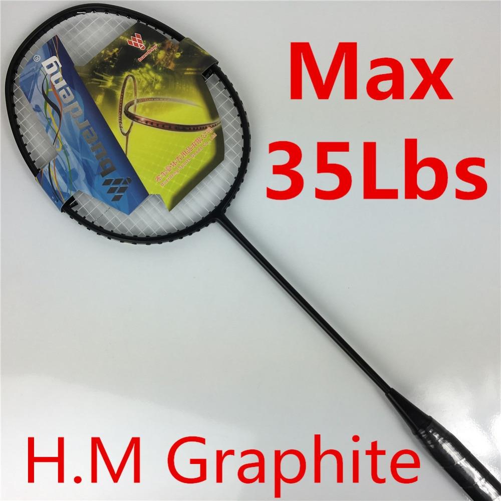 2018 одежда высшего качества ракетки для бадминтона. до 35lbs высокого напряжения прочный каркас ракетки для бадминтона профессиональные ракетки для бадминтона