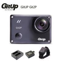 Original Gitup Git2 P WiFi Novatek 96660 1080P 2K Sport Helemet Camera Extra 1pcs Battery Battery