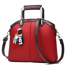 купить SUONAYI 2017 Women Messenger Bags Fashion Mini Bag With cartoon Toy Shell Shape Bag Women Shoulder Bags handbag дешево