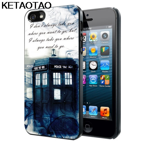Ketaotao Tardis Doctor Who Smoke Phone Cases For Iphone 4s 5c 5s 6s 7 8 Plus Xr Xs Max For Xs9 6 Case Soft Tpu Rubber Silicone To Win Warm Praise From Customers Phone Bumper