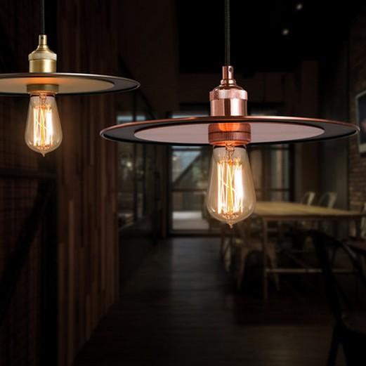 Nordic Loft Style Iron Vintage Pendant Light Fixtures For Dining Room Edison Hanging Lamp Indoor Lighting Lamparas Colgantes