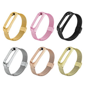 Smart-Watch-Strap Wristband Millet Bracelet Metal M3 Replacement Milan for with Buckle
