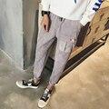 Japón Estilo de Otoño Nuevos Pantalones Para Hombre 2016 de la Marca de Moda Casual Corduroy Slim Fit Pantalones de Los Hombres Más Tamaño Pantalones Largos Para Hombre ropa