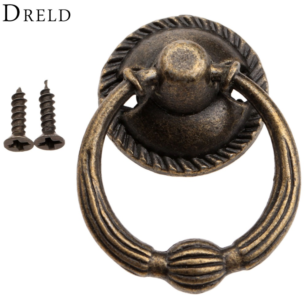 Dreld Antique Bronze Metal Kitchen Drawer Cabinet Door
