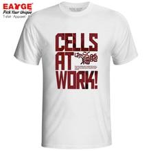 Cells At Work T-shirt Anime Fashion Cool Design Popluar Japanese Cartoon Exclusive T Shirt Pop Brand Women Men Tee