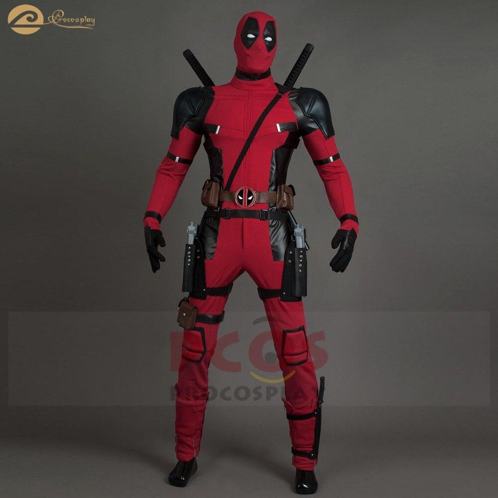 Brand New Deadpool Wade Winston Wilson 2 traje Cosplay Bom Ruim Deadpool Deadpool cosplay máscara & Traje mp004206