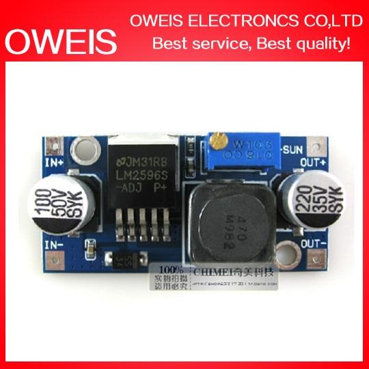 2 LM2596S LM2596S-ADJ LM2596 DC-DC Buck Converter Step Power Supply Module Output 1.23V-30V - Oweis Electronics (HK store)