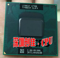 Intel X7900 cpu for Intel Core 2 Duo Extreme 4M 2.80G 800MHz SLA33 SLAF4 Laptop Processor PM965
