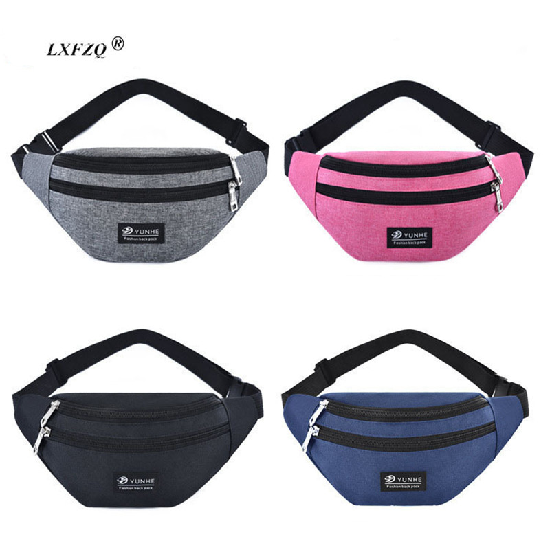 Pink Waist Bags New Fanny Pack Female Belt Bag Waist Packs Chest Phone Pouch Bolsa Feminina Hip Bag Belt Pouch Banana Bag T-700