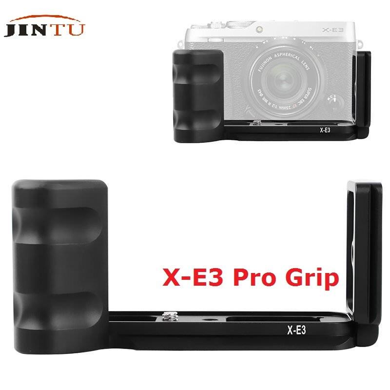 JINTU Vertical QR Quick Release L Bracket Camera Mount Grip For FUJIFILM Fuji XE3 X-E3