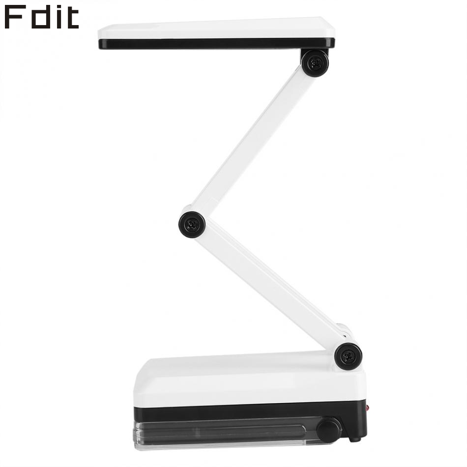 Portable Folding LED Reading Light Rechargeable Table Desk Study Lamp Eye Protection