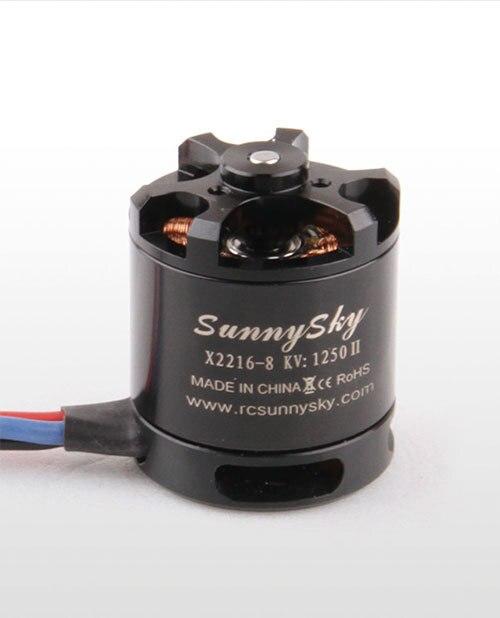 Hochwertige sunnysky x2216 2216 880kv 1100kv 1250kv 1400kv 1800KV 2400kv brushless motor für rc-modelle 3d flugzeug