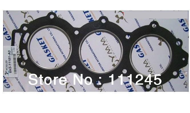 GASKET FOR YAMAHA 60HP ENGINE/MOTOR FREE SHIPPING CHEAP CYLINDER GASKET REPLACEMENT OEM P/N#  6H3-11181-A0GASKET FOR YAMAHA 60HP ENGINE/MOTOR FREE SHIPPING CHEAP CYLINDER GASKET REPLACEMENT OEM P/N#  6H3-11181-A0