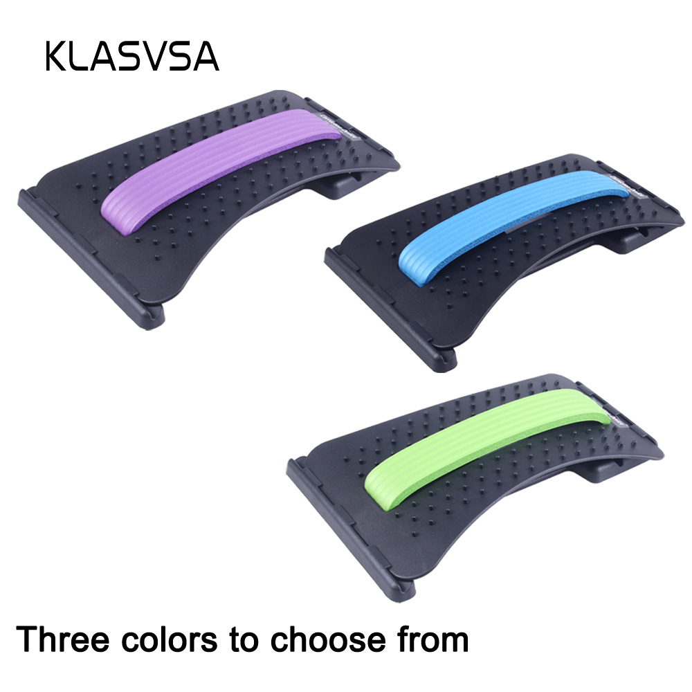Image 5 - KLASVSA Back Massager Magic Stretcher Equipment Stretcher Relax Mate Lumbar Support Spine Pain Relief Acupuncture Chiropractic-in Massage & Relaxation from Beauty & Health