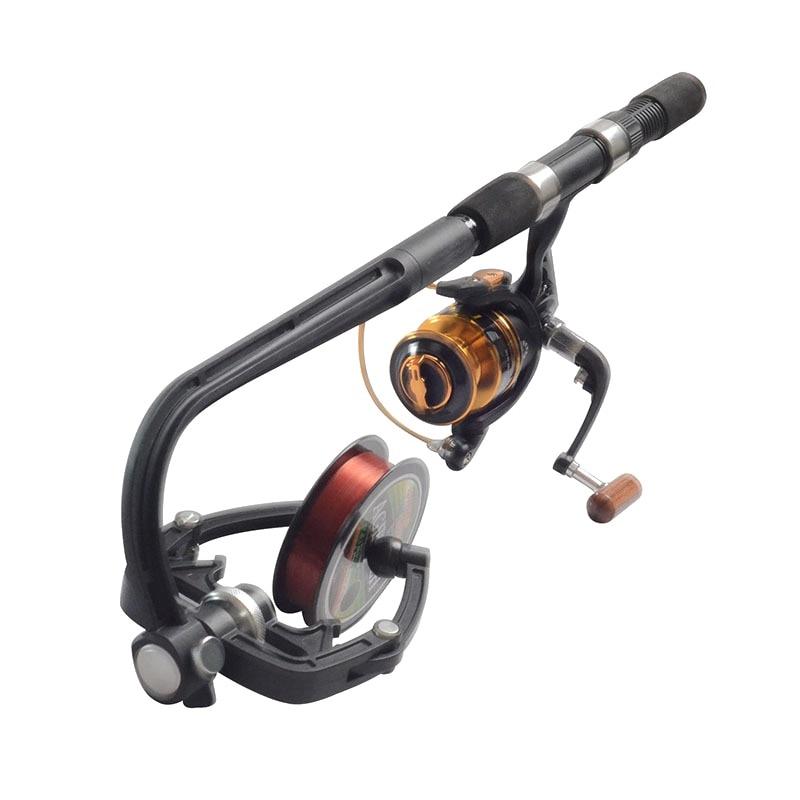 цена Fishing Reel Line Winder Spooler Machine Spinning Reel System Spinning Line Reel New Arrival
