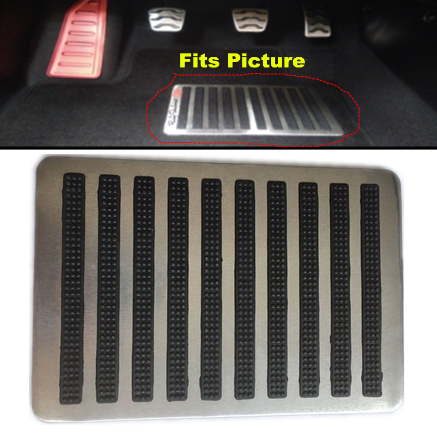 Stainless Steel Anti Skid Car Footpad Foot Rest Pedal