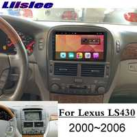 For Lexus LS LS430 XF30 For Toyota Celsior 2000~2006 Liislee Car Multimedia Player NAVI Screen CarPlay Radio Maps GPS Navigation