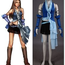 Final Fantasy X YUNA cosplay costumes halloween
