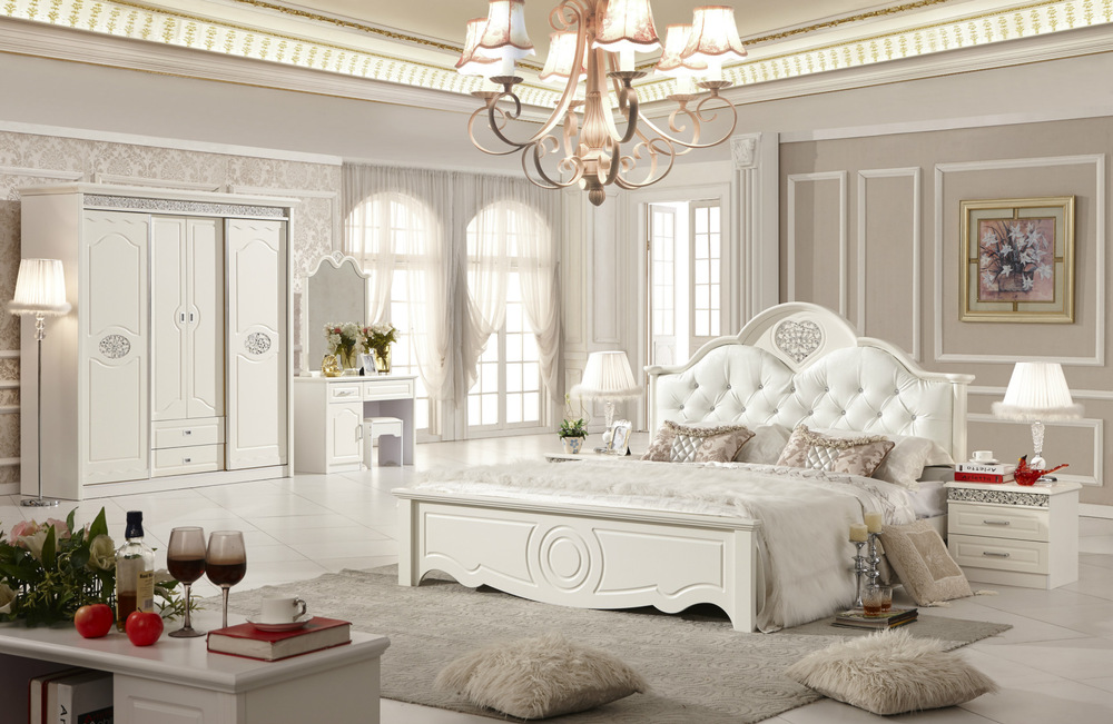 Guangdong Shunde Furniture Bedroom Suite House Korean Factory Direct Whole