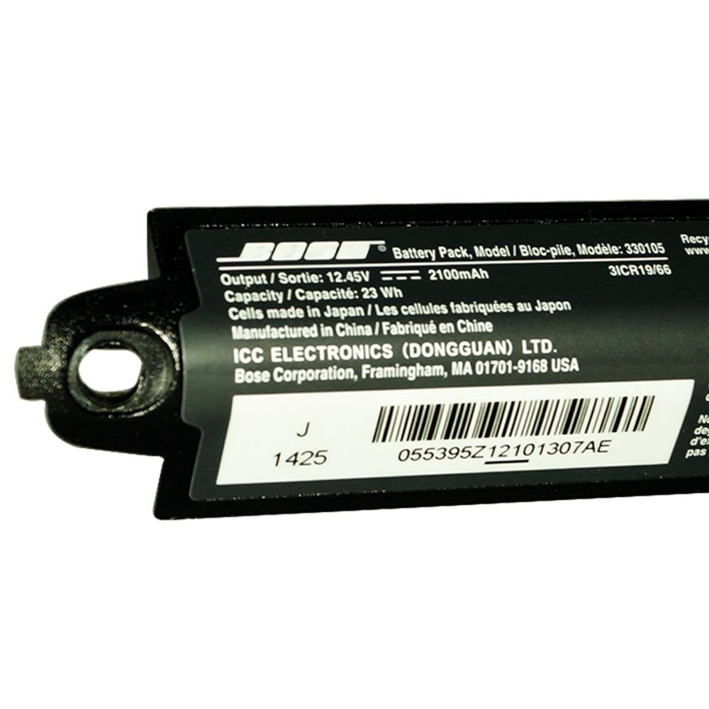 Hixon Battery for BOSE SOUNDLINK I II III  330105A 2100mAh Li-ion battery with PCB boardHixon Battery for BOSE SOUNDLINK I II III  330105A 2100mAh Li-ion battery with PCB board