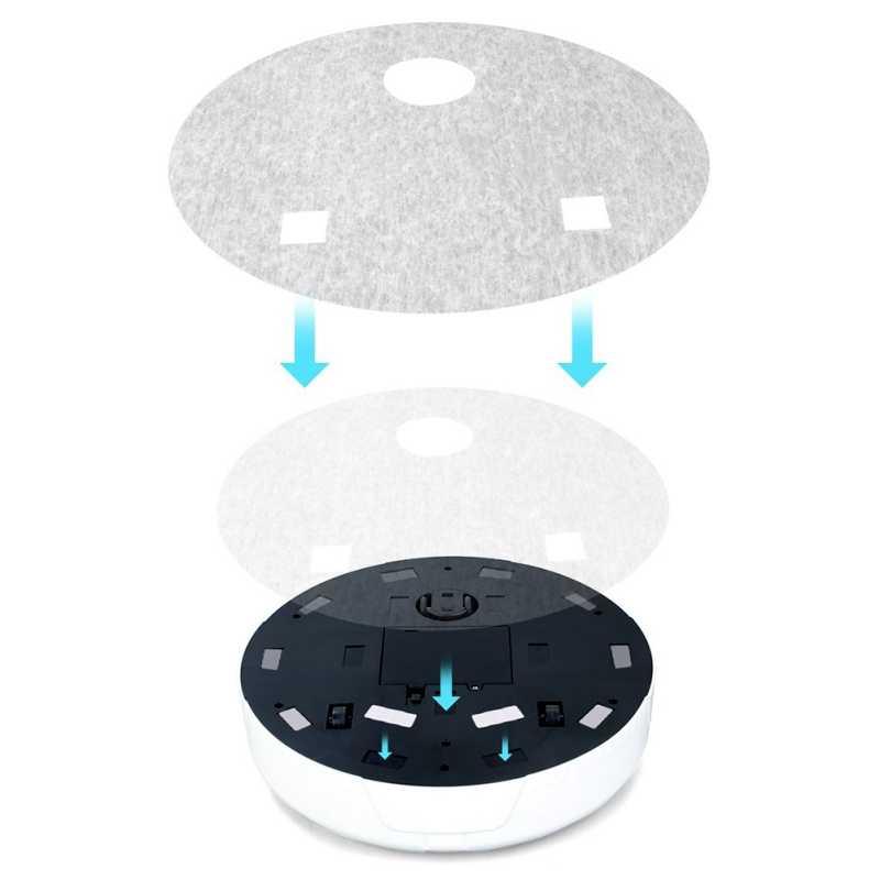 2 で 1 充電式床掃除ロボットダストキャッチャーインテリジェント自動誘導床掃除ロボット掃除機