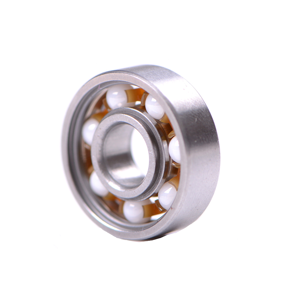 1PCS 608 Ceramic Bearing For Finger Spinner Wear Resistant Skateboard Bearings Alloy Inline Speed Ball Bearing image