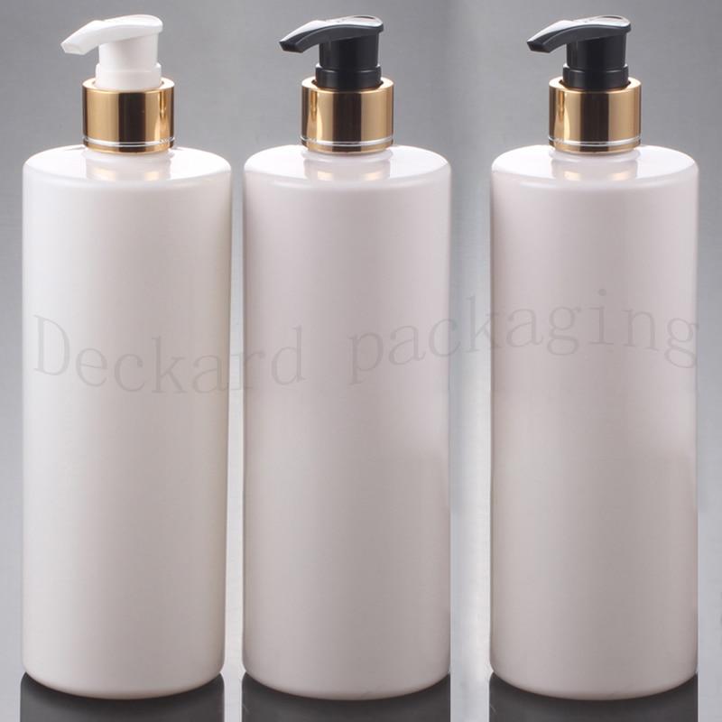 500ml Empty Multicolor Cosmetic Pet Aluminum Lotion Luxury