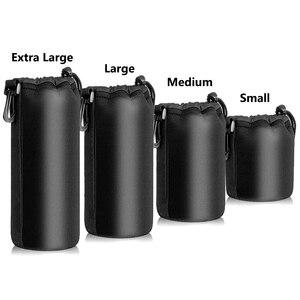Image 3 - Jumpflash kamera kılıfı Lens kılıfı seti Lens çantası küçük orta büyük ve ekstra büyük DSLR kamera Lens için çanta kılıfı darbeye dayanıklı
