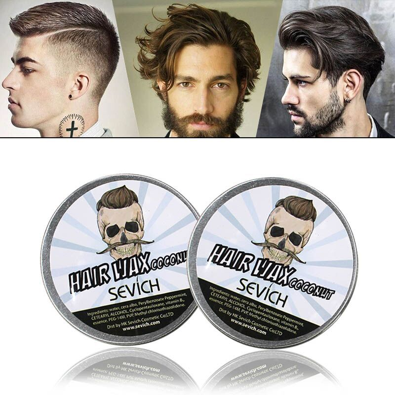 Five Tastes Coconut Hair Wax One-time Molding One-Time Hair Disposable strong modeling hair wax/mud shape hair gel