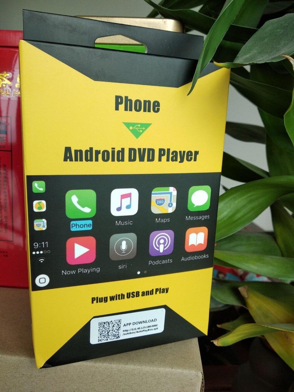 5 pièces Accessoires De Voiture USB Smart Link Apple CarPlay Dongle pour Android Navigation Lecteur Mini USB Carplay Bâton avec Android auto