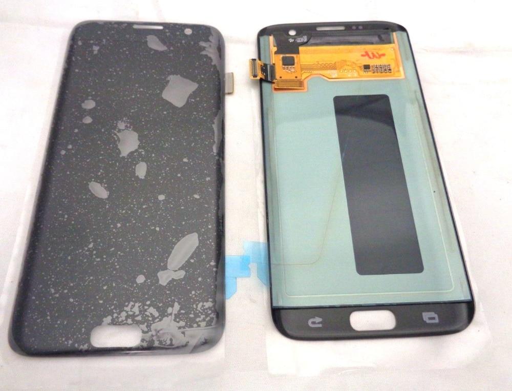 Amoled Pour Samsung Galaxy S7 Bord G935 G935F Lcd Écran Affichage + Tactile En Verre DIgitizer Assemblée De Réparation s7dge Amoled