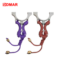 Skull Slingshot Stainless Steel With Rubber Length 110mm 4 3 Powerful Accurate Shooting Hunting Accessories