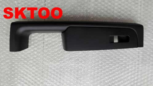 SKTOO For Skoda Superb door handle, front right door armrest box, passenger side inner handle frame, the lifter switch box black