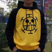 New Anime ONE PIECE Trafalgar Law Cosplay Sweater Coat Hoodie Death Surgeon Clothing