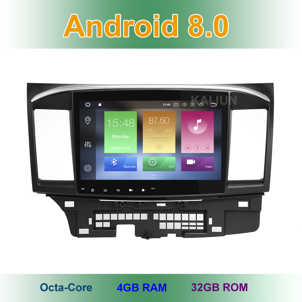10 1 inch Android 8 0 Car DVD Multimedia Player Radio for MITSUBISHI LANCER 2008 2015