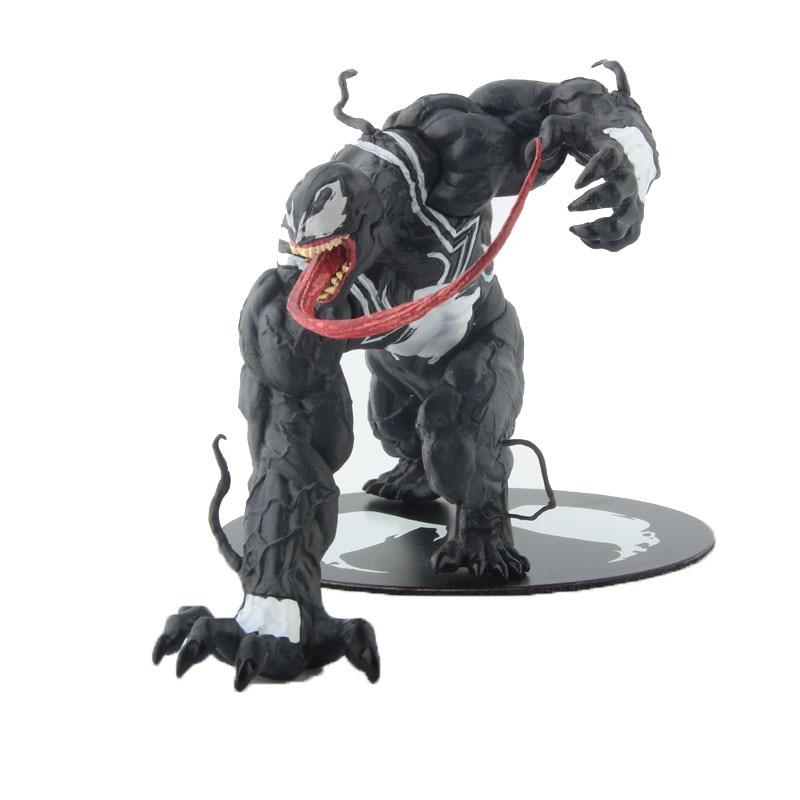 Galleria fotografica Marvel The Avengers Amazing Spiderman Venom Figure Toy ARTFX 1/10 Scale Statue pre-painted model kit Brinquedos Figurals