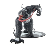 Marvel The Avengers Amazing Spiderman Venom Figure Toy ARTFX 1/10 Scale Statue pre-painted model kit Brinquedos Figurals the amazing spider man venom carnage revoltech series no 008 action figure toy brinquedos figurals collection model