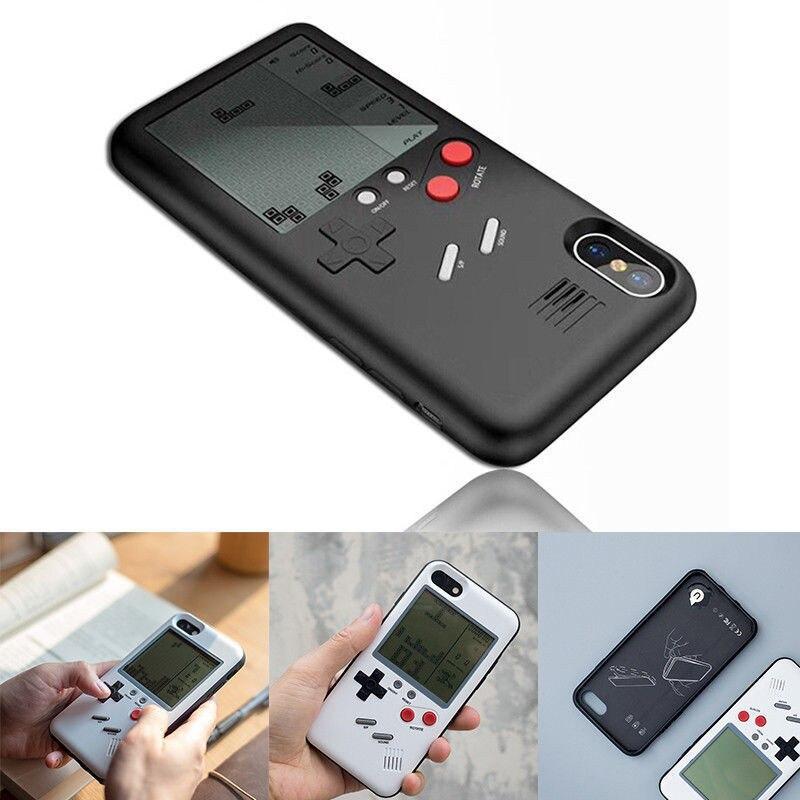 Tetris Gameboy Del Telefono Custodie per iPhone X 6 s 6 6 più il 7 7 plus 8 8 più Retrò Nintendo tetris Gameboy Cassa Del Telefono