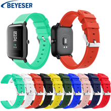 Sport Silicone Watchband for Xiaomi Huami Amazfit Bip Bit Watch Band Strap Replacement Bracelet