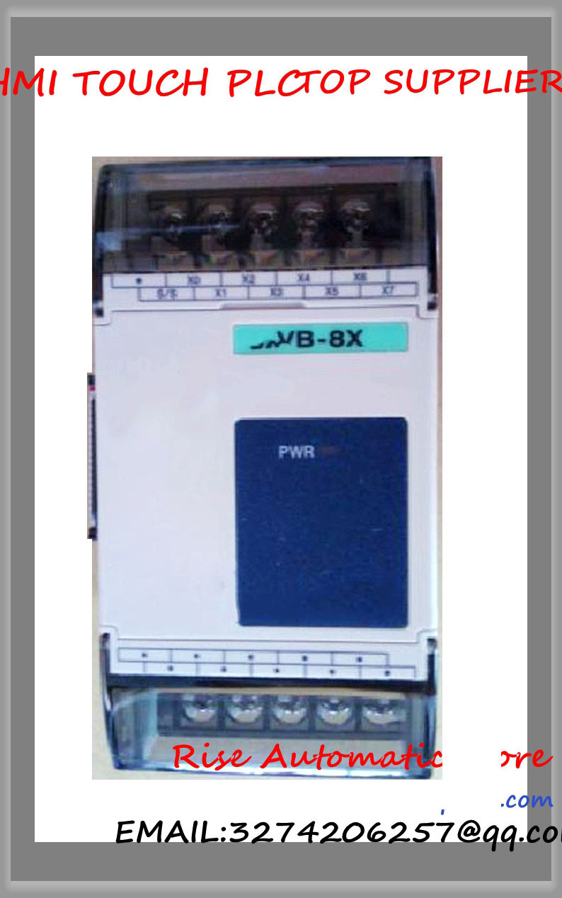VB-8X-C PLC New Original 24VDC 8 point input Expansion Module vb 16yr plc new original 24vdc 16 point input expansion module
