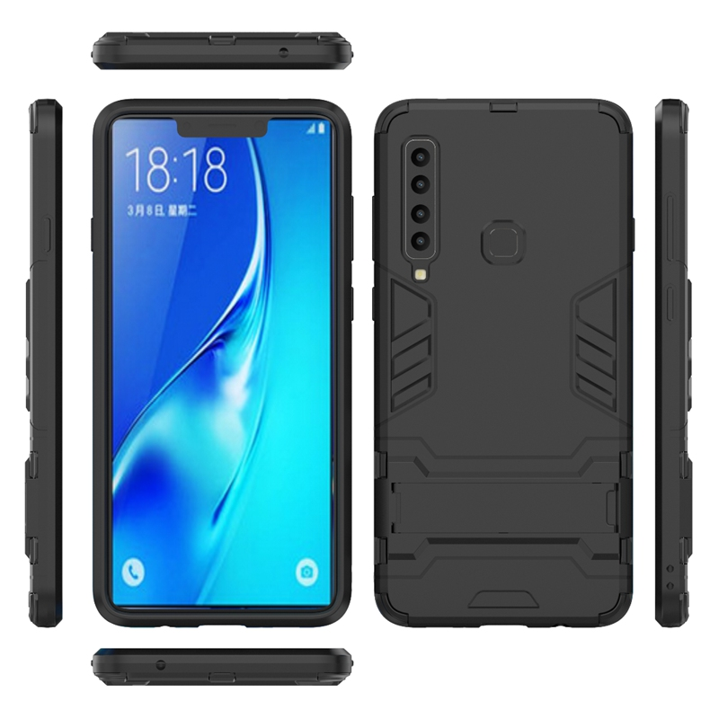Heavy Duty Armour Fundas Case Shockproof Full Body Cover For Samsung Galaxy A9 2018 A710 A3 A5 A7 A6 A6 Plus in Fitted Cases from Cellphones Telecommunications