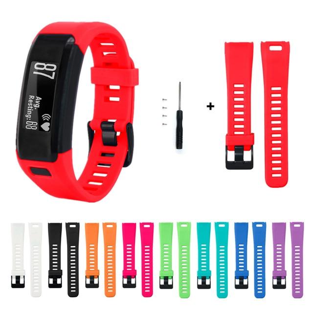 For Garmin Vivosmart HR Band Silicone Smart Watch Strap For Garmin Vivo Smart HR Smart Wristband Sports Bracelet Fitness Tracker