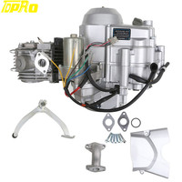 TDPRO Motorcycle Buggy 125cc Engine 3 + 1 Semi Auto Electrical Start Motor ATV Quad Pocket Bike Motorbikes
