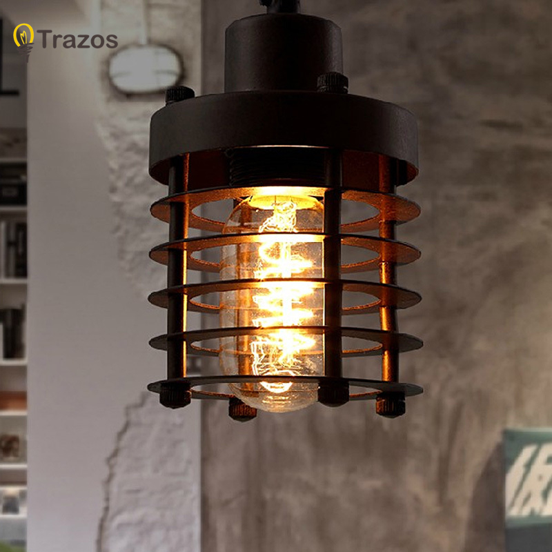 Free Shipping Modern Vintage Loft Pendant Light Hanging Light Suspended Lighting for Restaurant Decoration