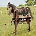 """J & E High-end 48.8 """"cavalo cavalo mesa mesa de café móveis para casa de madeira FSC-certified"""