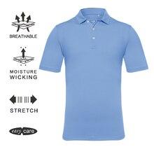 EAGEGOF рубашка для гольфа мужская с коротким рукавом поло одежда для гольфа быстросохнущая Спортивная одежда на заказ DIY логотип/узор командная форма