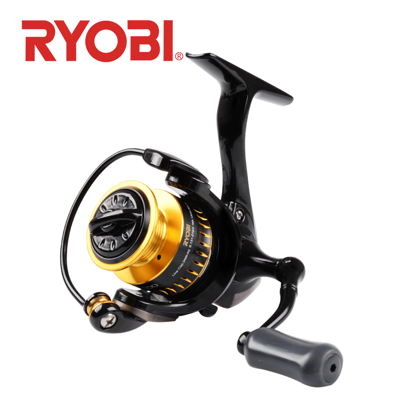 <font><b>RYOBI</b></font> ULTRA POWER 500/800/<font><b>1000</b></font> Spinning Fishing Reel mini wheels 6+1BB feeder fishing Saltewater Carp Fishing Reel metal spool image